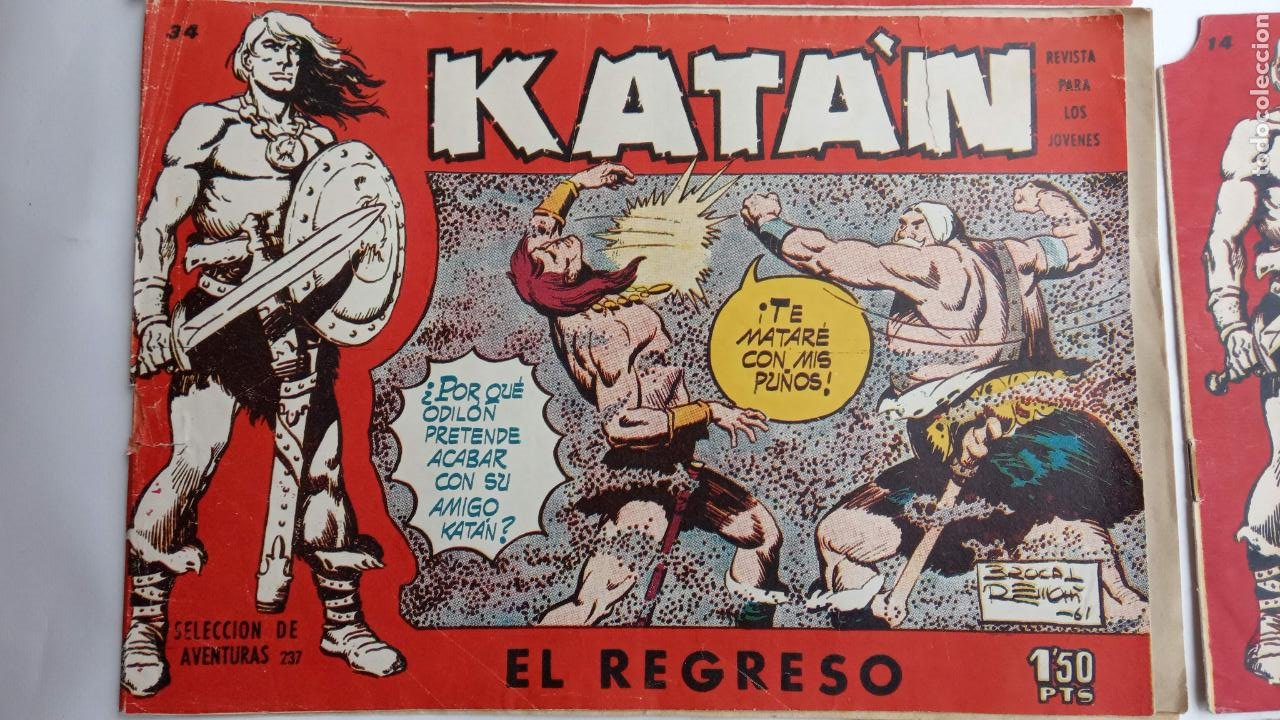 Tebeos: KATAN ORIGINALES - 20 NºS EDITORIAL TORAY 1960 - Foto 4 - 231627420