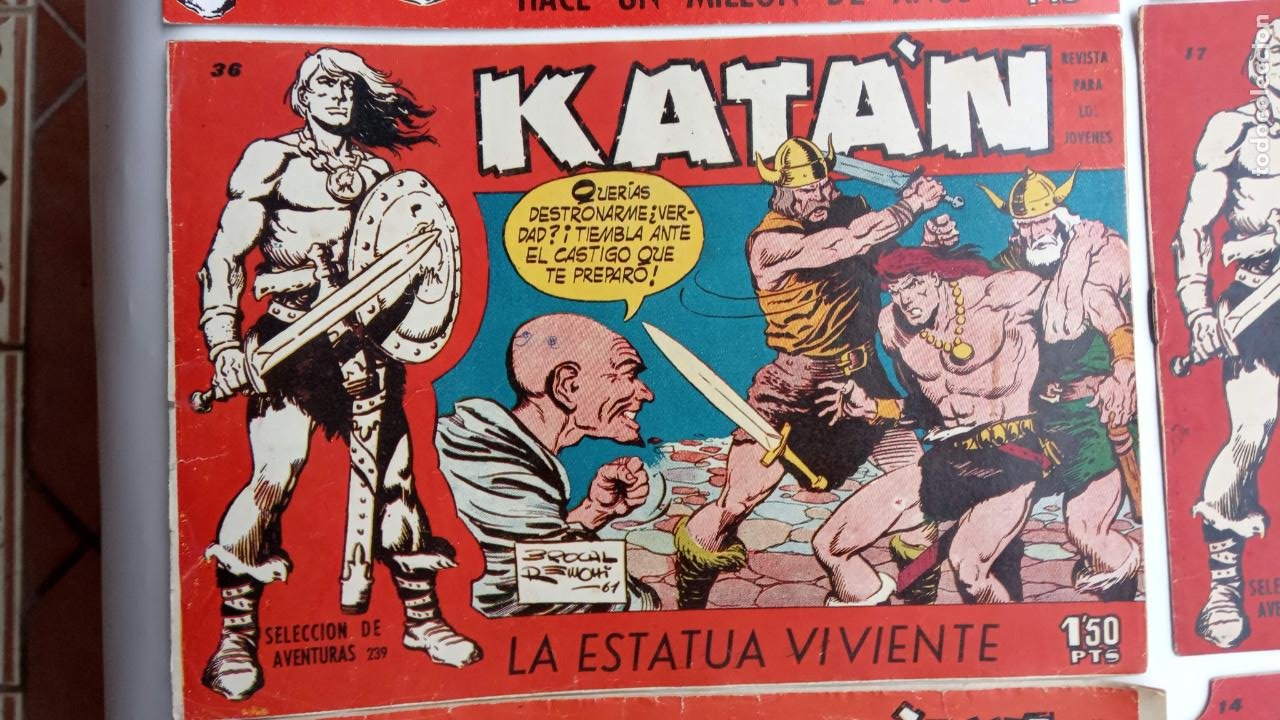 Tebeos: KATAN ORIGINALES - 20 NºS EDITORIAL TORAY 1960 - Foto 5 - 231627420