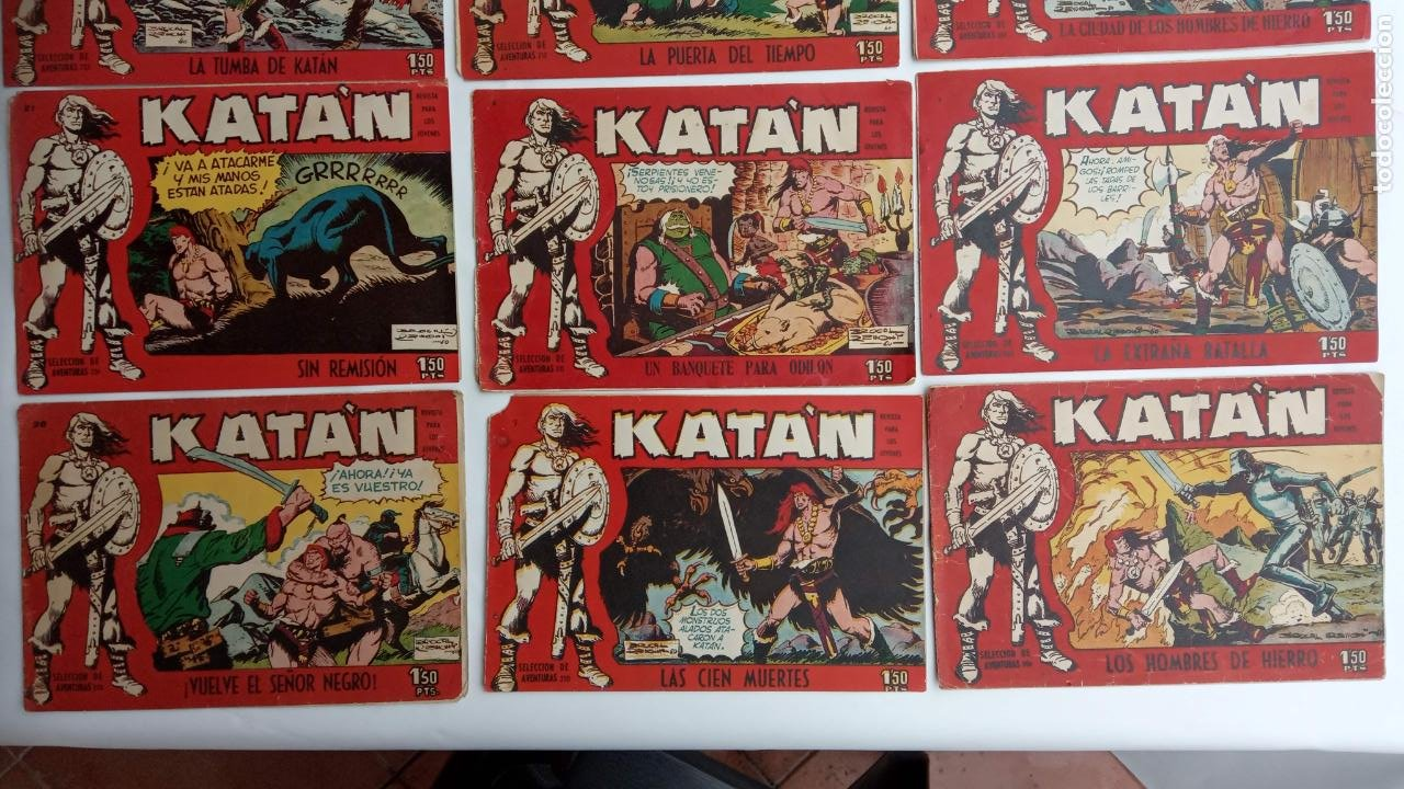 Tebeos: KATAN ORIGINALES - 20 NºS EDITORIAL TORAY 1960 - Foto 8 - 231627420