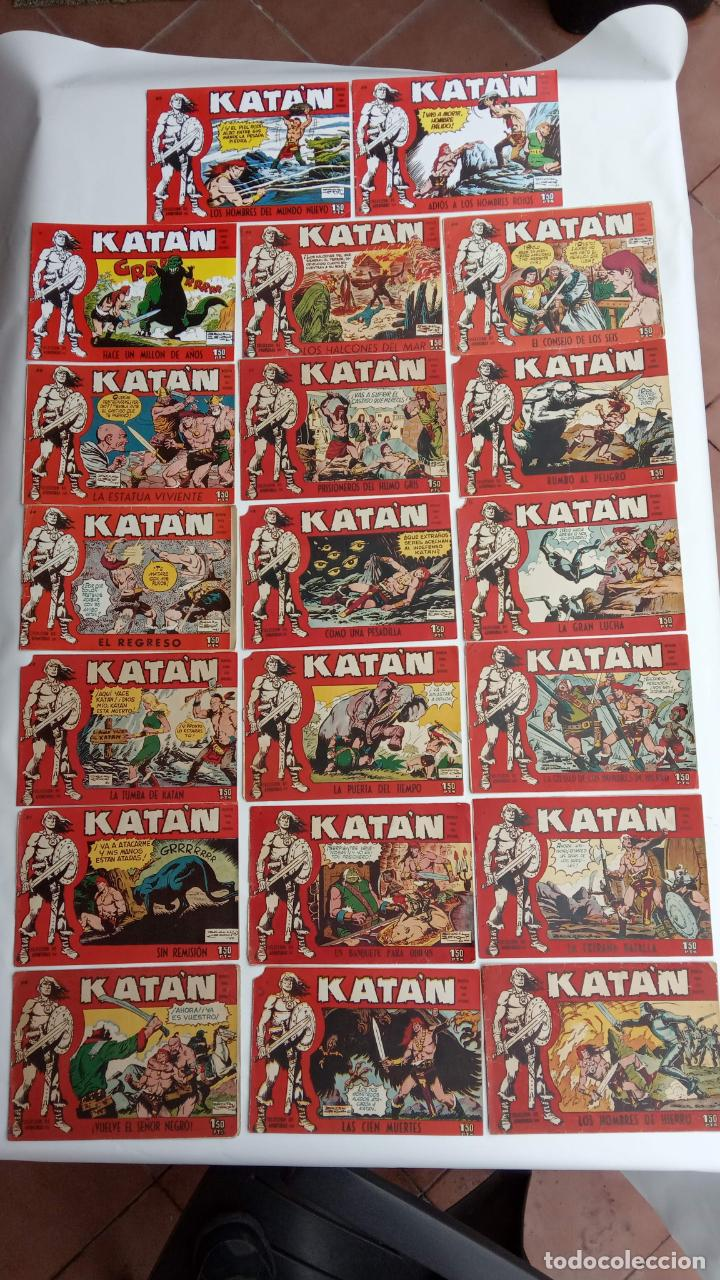 Tebeos: KATAN ORIGINALES - 20 NºS EDITORIAL TORAY 1960 - Foto 9 - 231627420