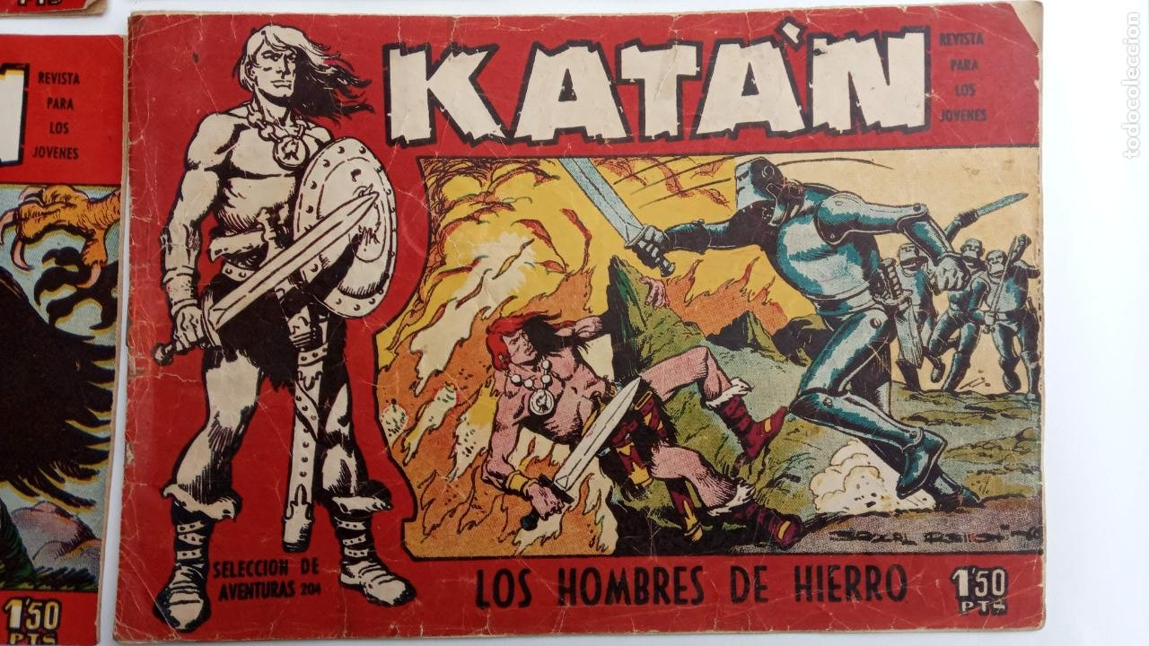 Tebeos: KATAN ORIGINALES - 20 NºS EDITORIAL TORAY 1960 - Foto 10 - 231627420