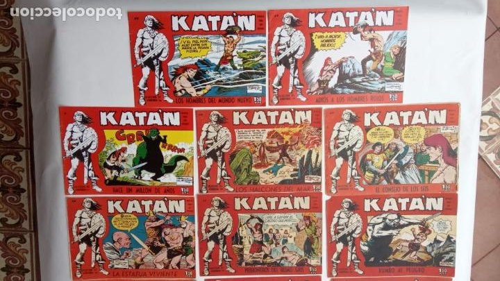Tebeos: KATAN ORIGINALES - 20 NºS EDITORIAL TORAY 1960 - Foto 11 - 231627420