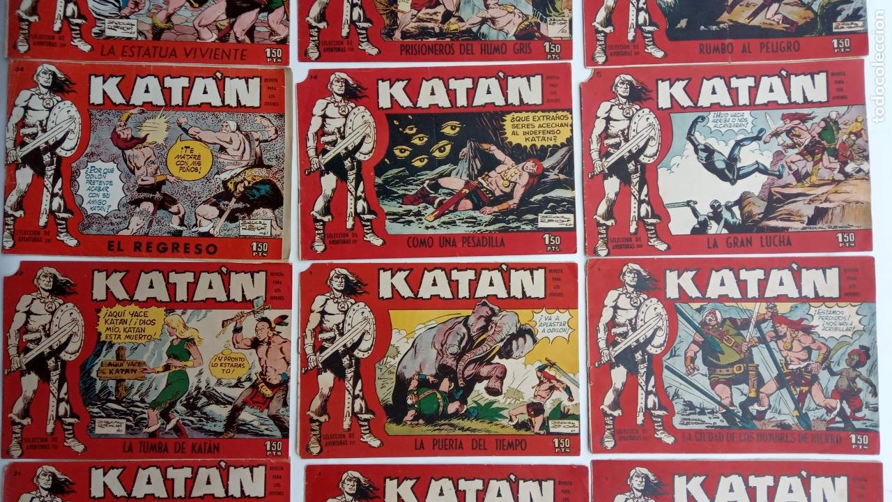 Tebeos: KATAN ORIGINALES - 20 NºS EDITORIAL TORAY 1960 - Foto 12 - 231627420
