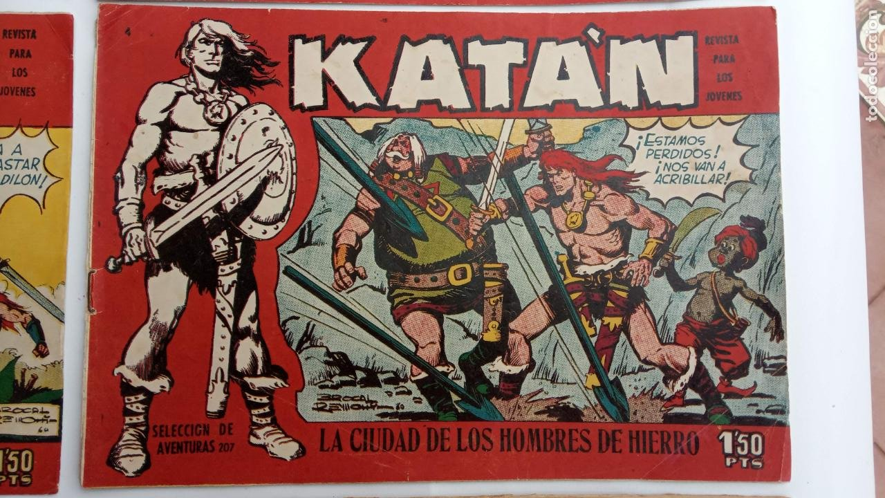 Tebeos: KATAN ORIGINALES - 20 NºS EDITORIAL TORAY 1960 - Foto 13 - 231627420