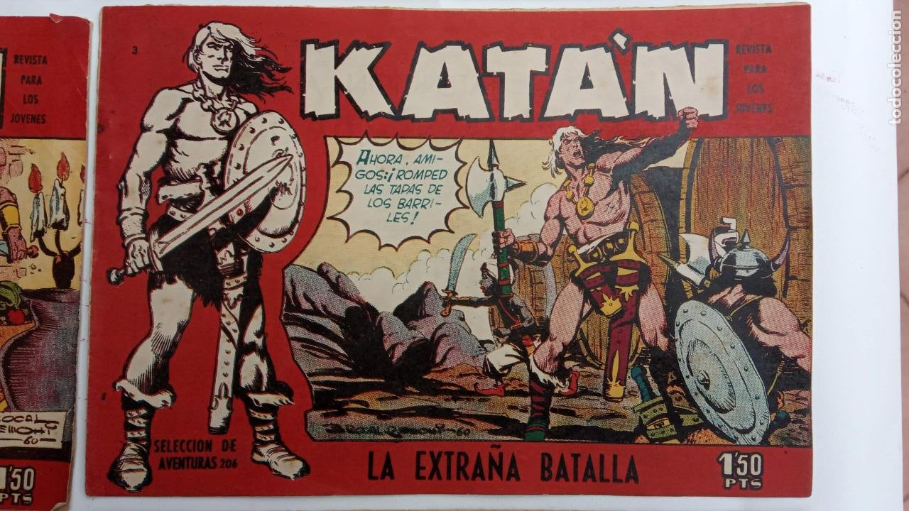 Tebeos: KATAN ORIGINALES - 20 NºS EDITORIAL TORAY 1960 - Foto 14 - 231627420