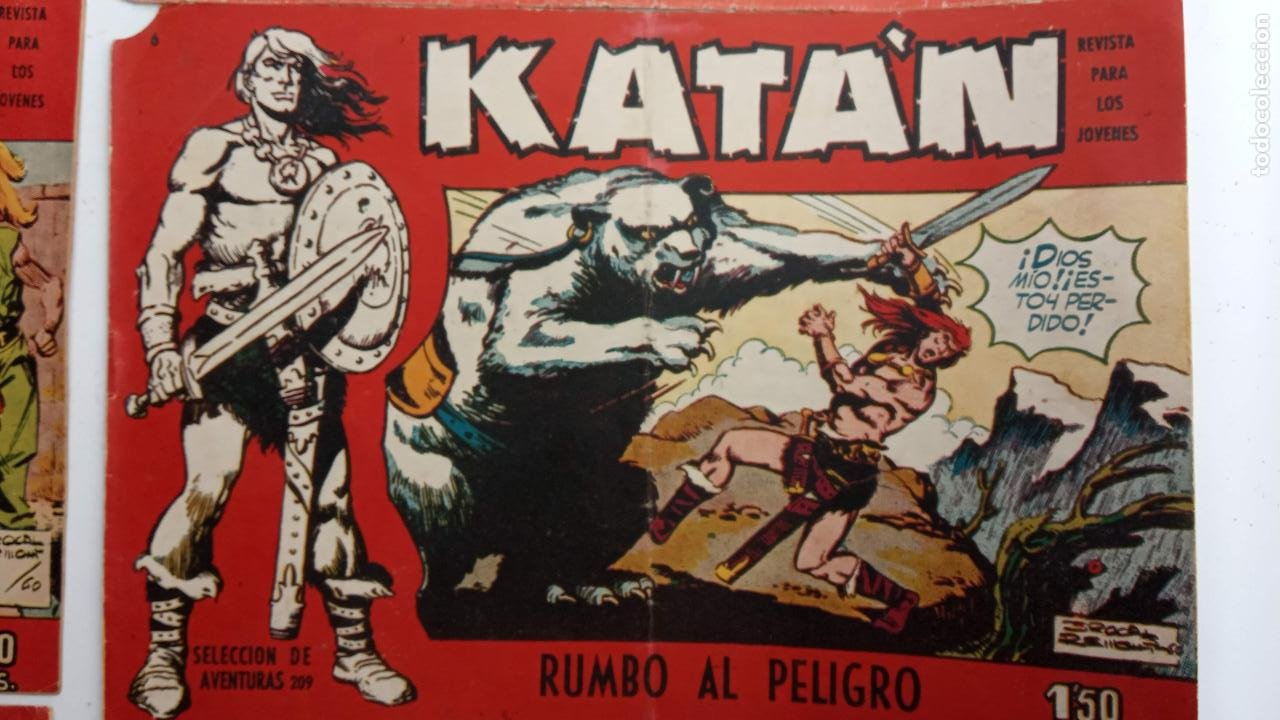 Tebeos: KATAN ORIGINALES - 20 NºS EDITORIAL TORAY 1960 - Foto 15 - 231627420