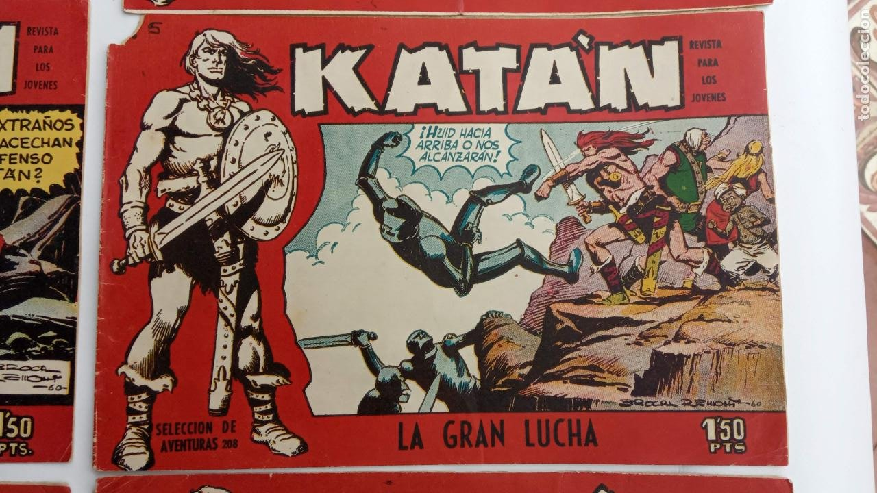 Tebeos: KATAN ORIGINALES - 20 NºS EDITORIAL TORAY 1960 - Foto 16 - 231627420