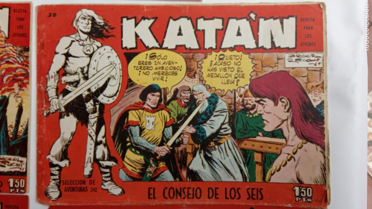 Tebeos: KATAN ORIGINALES - 20 NºS EDITORIAL TORAY 1960 - Foto 17 - 231627420