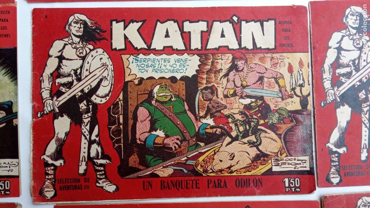 Tebeos: KATAN ORIGINALES - 20 NºS EDITORIAL TORAY 1960 - Foto 18 - 231627420