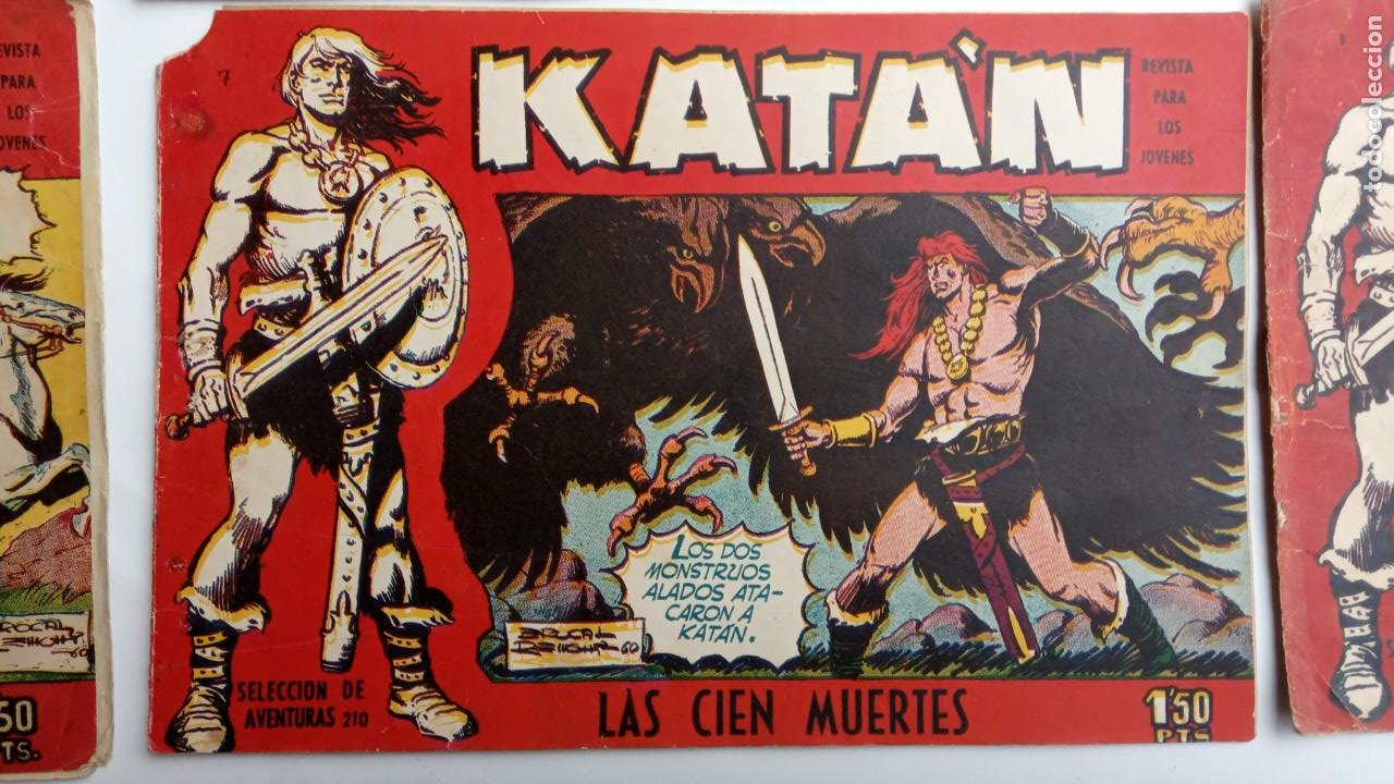 Tebeos: KATAN ORIGINALES - 20 NºS EDITORIAL TORAY 1960 - Foto 19 - 231627420
