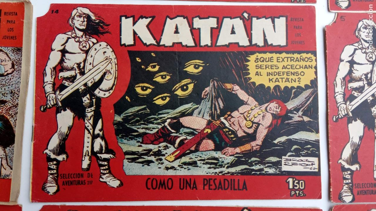 Tebeos: KATAN ORIGINALES - 20 NºS EDITORIAL TORAY 1960 - Foto 20 - 231627420
