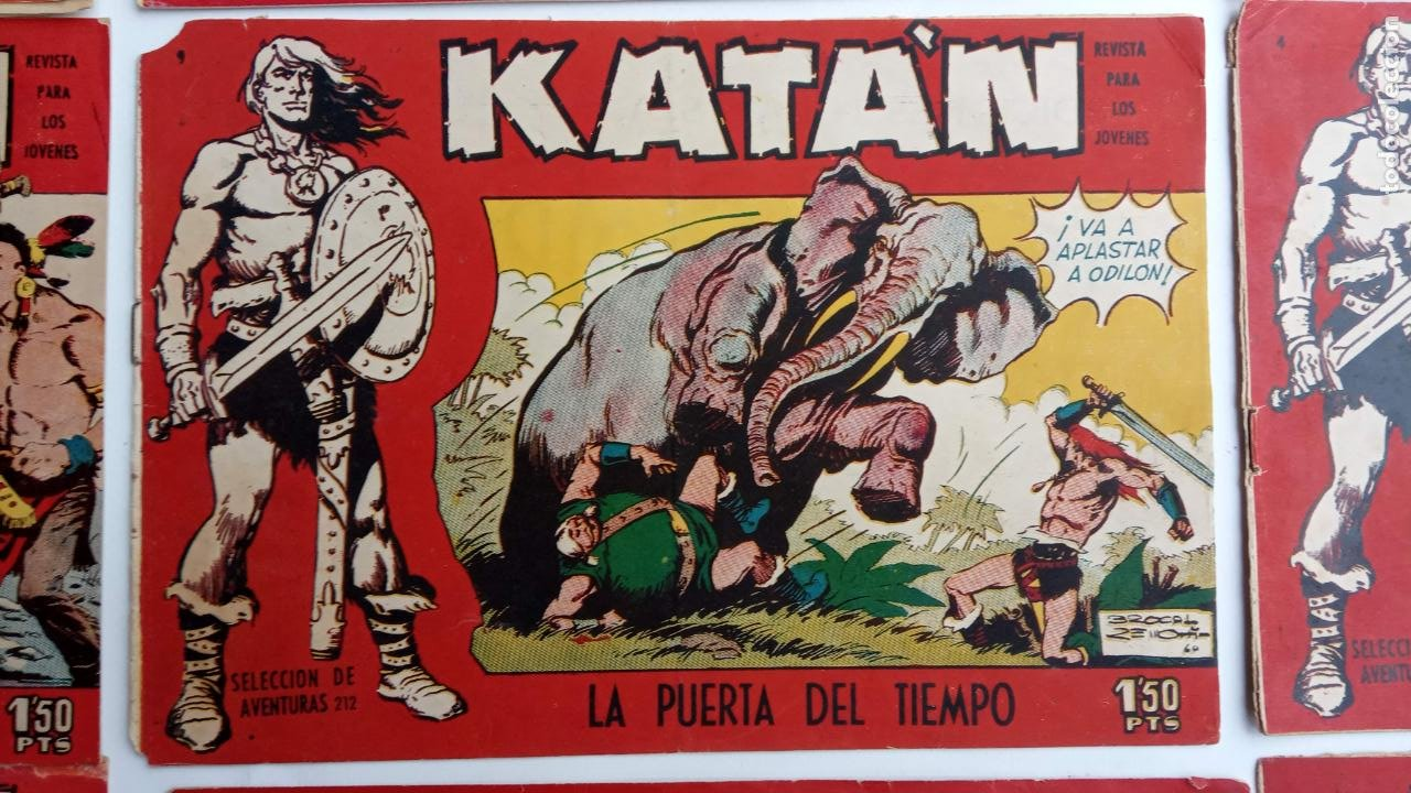 Tebeos: KATAN ORIGINALES - 20 NºS EDITORIAL TORAY 1960 - Foto 21 - 231627420