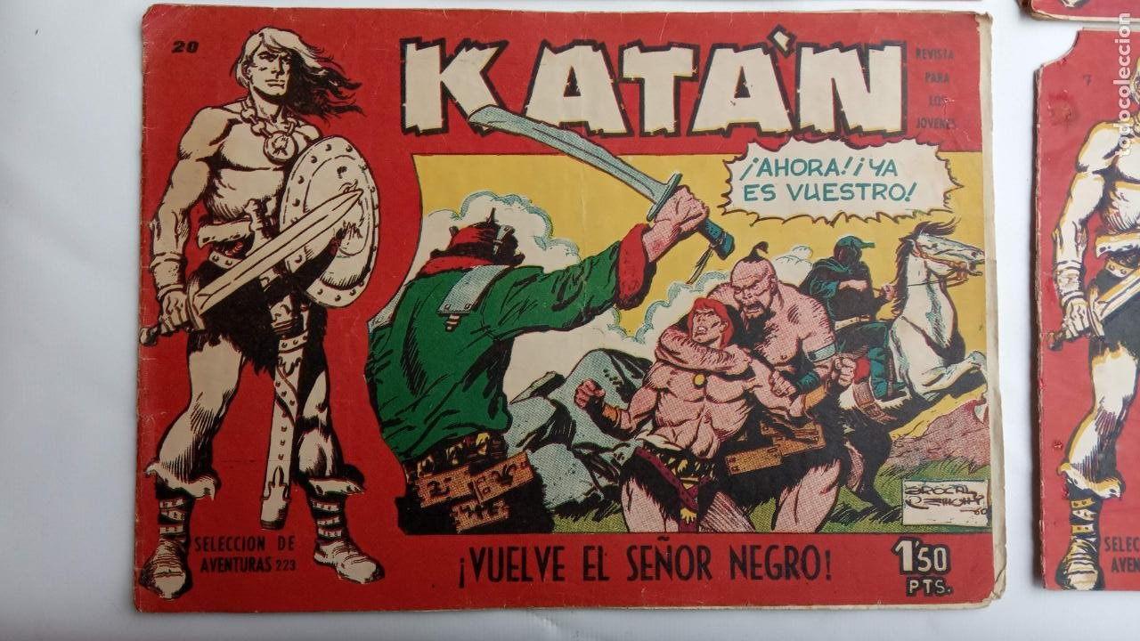 Tebeos: KATAN ORIGINALES - 20 NºS EDITORIAL TORAY 1960 - Foto 22 - 231627420