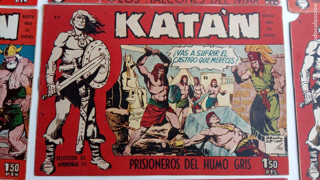 Tebeos: KATAN ORIGINALES - 20 NºS EDITORIAL TORAY 1960 - Foto 23 - 231627420