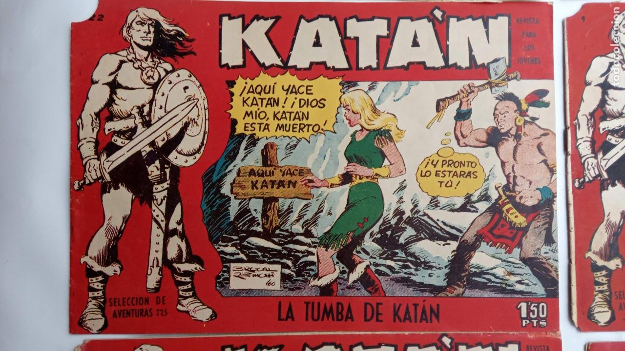 Tebeos: KATAN ORIGINALES - 20 NºS EDITORIAL TORAY 1960 - Foto 24 - 231627420