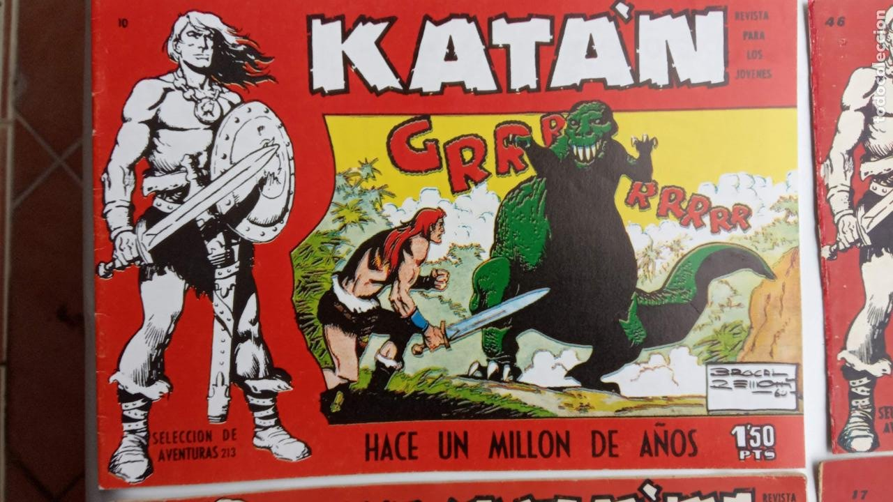 Tebeos: KATAN ORIGINALES - 20 NºS EDITORIAL TORAY 1960 - Foto 25 - 231627420