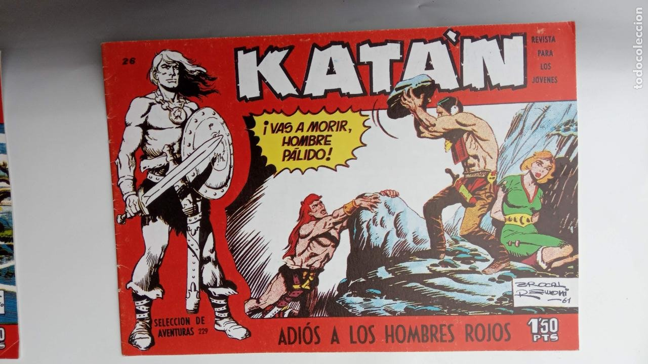 Tebeos: KATAN ORIGINALES - 20 NºS EDITORIAL TORAY 1960 - Foto 26 - 231627420