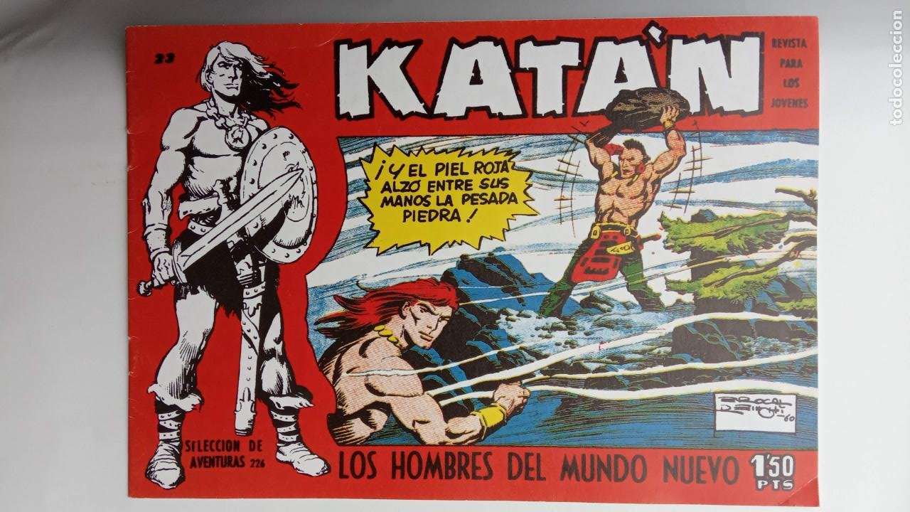 Tebeos: KATAN ORIGINALES - 20 NºS EDITORIAL TORAY 1960 - Foto 27 - 231627420