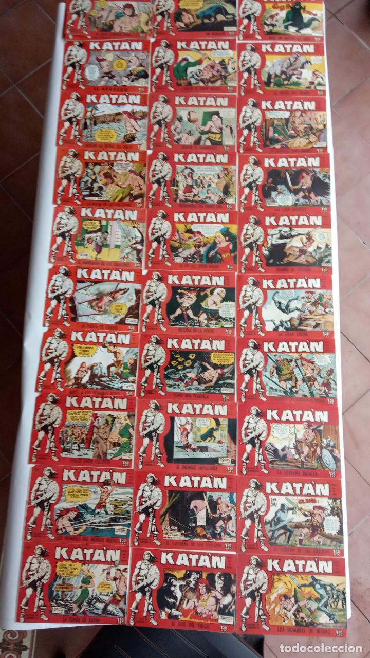 KATAN ORIGINAL EN MUY BUEN ESTADO - 48,46,43,40,39,38,36,34,33,30,28 A 26, 24 A 20, 18 A 1 (Tebeos y Comics - Toray - Katan)