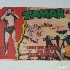 Tebeos: TAMAR - HOMBRES DE ACCION - Nº 92 - LOS COLLARES DE LA ESCLAVITUD - ED. TORAY AÑOS 60 SOLO PORTADA. Lote 231685345