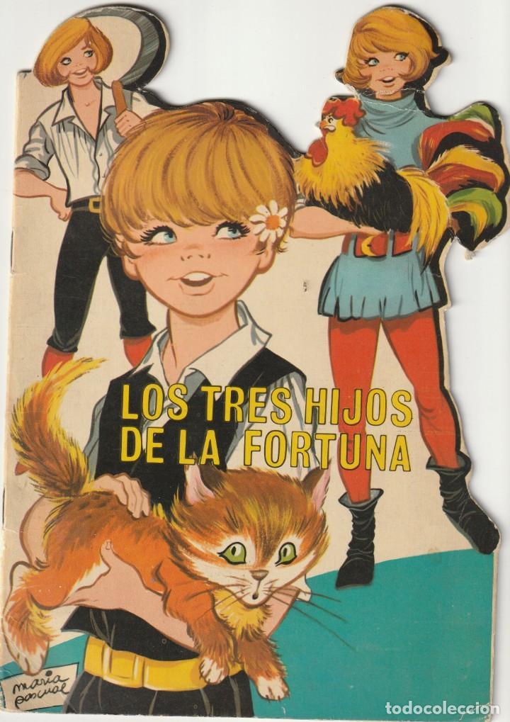 1969 TROQUELADO LOS TRES HIJOS DE LA FORTUNA CUENTOS CLASICOS TROQUELADOS TORAY (Tebeos y Comics - Toray - Otros)