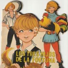 Tebeos: 1969 TROQUELADO LOS TRES HIJOS DE LA FORTUNA CUENTOS CLASICOS TROQUELADOS TORAY. Lote 231757265