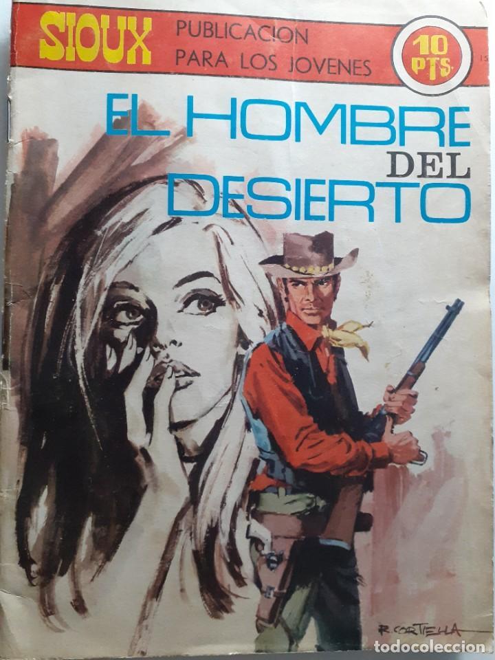 Tebeos: SIOUX- Nº 151 - EL HOMBRE DEL DESIERTO -1970-GRAN JUAN MULERO-BUENO-MUY DIFÍCIL-LEAN-4245 - Foto 2 - 232323175
