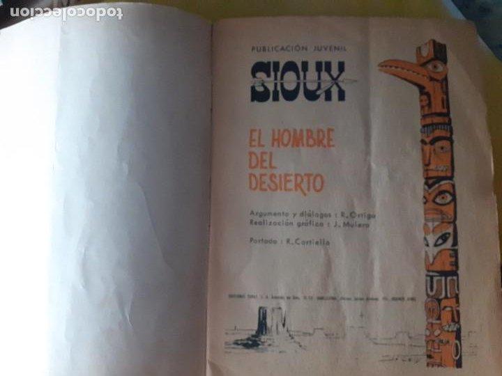 Tebeos: SIOUX- Nº 151 - EL HOMBRE DEL DESIERTO -1970-GRAN JUAN MULERO-BUENO-MUY DIFÍCIL-LEAN-4245 - Foto 5 - 232323175