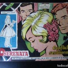 Tebeos: SERENATA (1960, TORAY) 46 · 3-II-1961 · CONFLICTO SENTIMENTAL. Lote 232330375