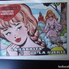 Tebeos: LINDAFLOR (1956, TORAY) 267 · 27-X-1961 · LA CABRITA DE LA SUERTE. Lote 232338230