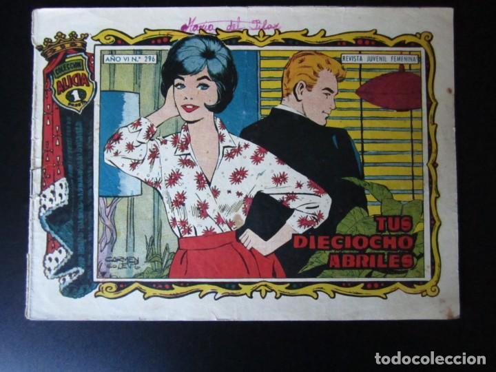 ALICIA (1955, TORAY) 296 · 27-I-1961 · TUS DIOCIOCHO ABRILES (Tebeos y Comics - Toray - Alicia)
