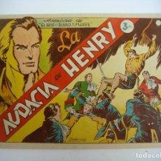 Tebeos: COMICS EL HIJO DE DIABLO DE LOS MARES--AUDACIA DE HENRY. Lote 232353300