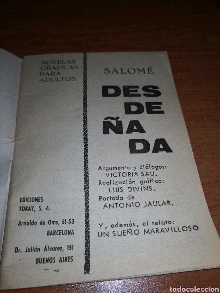 Tebeos: Novela, Desdeñada. Salomé - Foto 4 - 232390705