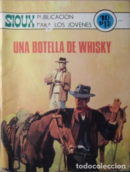 SIOUX- Nº 174- UNA BOTELLA DE WHISKY- GRAN JAIME FORNS-1970-CASI BUENO-MUY DIFÍCIL-LEAN-4247 (Tebeos y Comics - Toray - Sioux)
