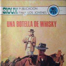 Tebeos: SIOUX- Nº 174- UNA BOTELLA DE WHISKY- GRAN JAIME FORNS-1970-CASI BUENO-MUY DIFÍCIL-LEAN-4247. Lote 232422455