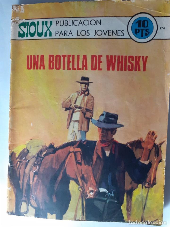 Tebeos: SIOUX- Nº 174- UNA BOTELLA DE WHISKY- GRAN JAIME FORNS-1970-CASI BUENO-MUY DIFÍCIL-LEAN-4247 - Foto 2 - 232422455