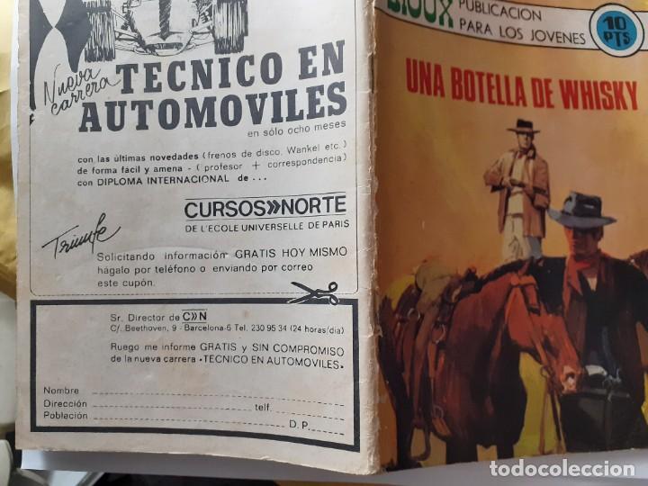 Tebeos: SIOUX- Nº 174- UNA BOTELLA DE WHISKY- GRAN JAIME FORNS-1970-CASI BUENO-MUY DIFÍCIL-LEAN-4247 - Foto 3 - 232422455