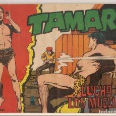 Tebeos: TAMAR. Nº 182. LUCHA EN LOS MUELLES. TORAY, 1961.(C/A19). Lote 232593520
