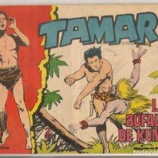 Tebeos: TAMAR. Nº 174. LOS BÚFALOS DE KUNGO. TORAY, 1961.(C/A19). Lote 232593665