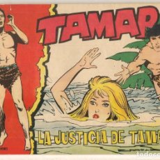 Tebeos: TAMAR. Nº 142. LA JUSTICIA DE TAMAR. TORAY, 1961.(C/A19). Lote 232593785