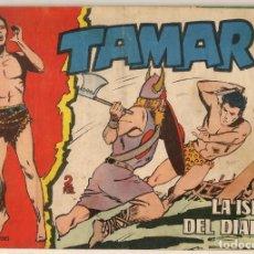 Tebeos: TAMAR. Nº 106. LA ISLA DEL DIABLO. TORAY, 1961.(C/A19). Lote 232594160