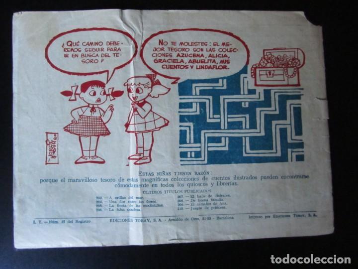 Tebeos: ALICIA (1955, TORAY) 210 · 5-VI-1959 · JUEGOS DE PRINCESA - Foto 2 - 232621880