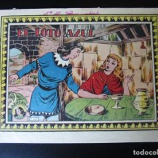 Tebeos: AZUCENA (1954, TORAY) -REEDICION- 169 · 24-V-1957 · EL LOTO AZUL. Lote 232661010