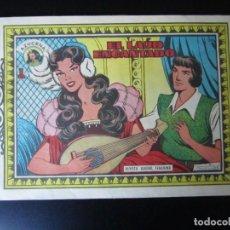 Tebeos: AZUCENA (1954, TORAY) -REEDICION- 245 · 7-XI-1958 · EL LAUD ENCANTADO. Lote 232661192