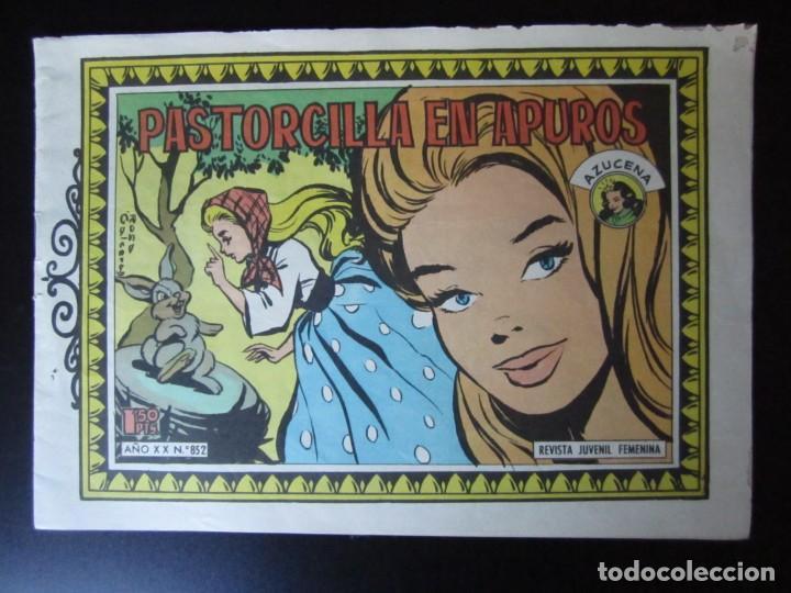 AZUCENA (1954, TORAY) -REEDICION- 852 · 10-XI-1961 · AZUCENA (Tebeos y Comics - Toray - Azucena)
