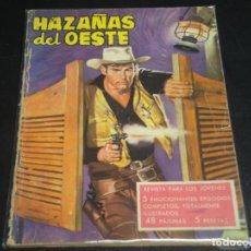 Tebeos: HAZAÑAS DEL OESTE Nº 24. TORAY. Lote 232733550