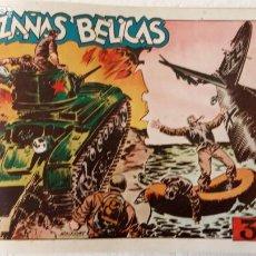 Tebeos: HAZAÑAS BÉLICAS ORIGINAL COMPLETA ALBUM 1949 TORAY, MUY BUEN ESTADO. Lote 233793970