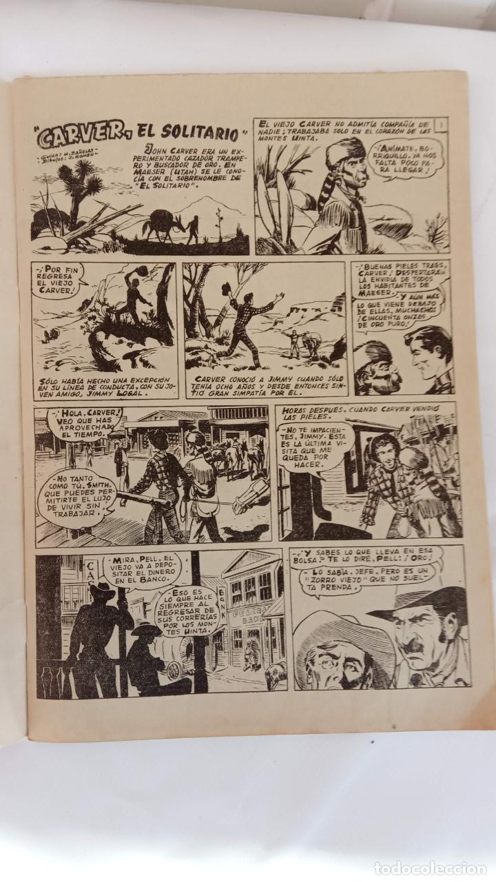 Tebeos: ALMANAQUE PARA 1961 HAZAÑAS DEL OESTE ORIGINAL - EDI. TORAY - Foto 4 - 233936075