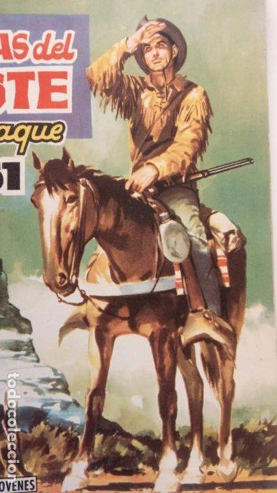 Tebeos: ALMANAQUE PARA 1961 HAZAÑAS DEL OESTE ORIGINAL - EDI. TORAY - Foto 2 - 233936075