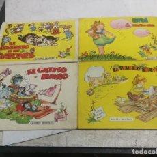 Tebeos: LOTE 4 ALBUMES INFANTILES Nº 2-3-5-7 (ANDRÉS BAÑOLAS) TORAY, 1960 EL CONGRESO DE RATONES Y OTROS. Lote 233937185